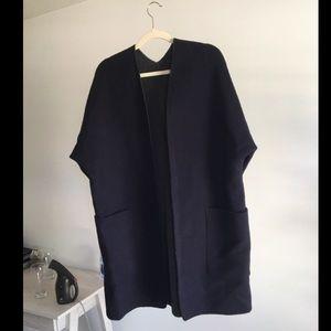 vince wool cardigan/ coat